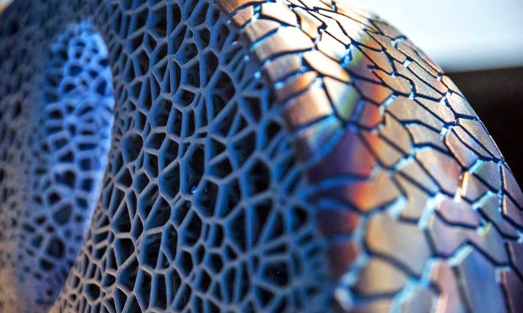 El neumático del futuro será biodegradable, inteligente e impreso en 3D