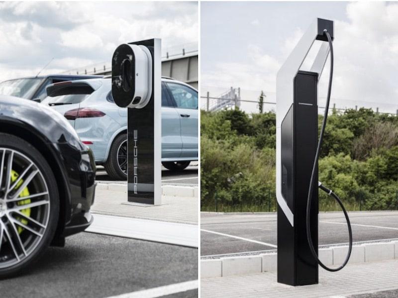 Porsche estrena su primera estación de carga ultrarrápida para vehículos eléctricos