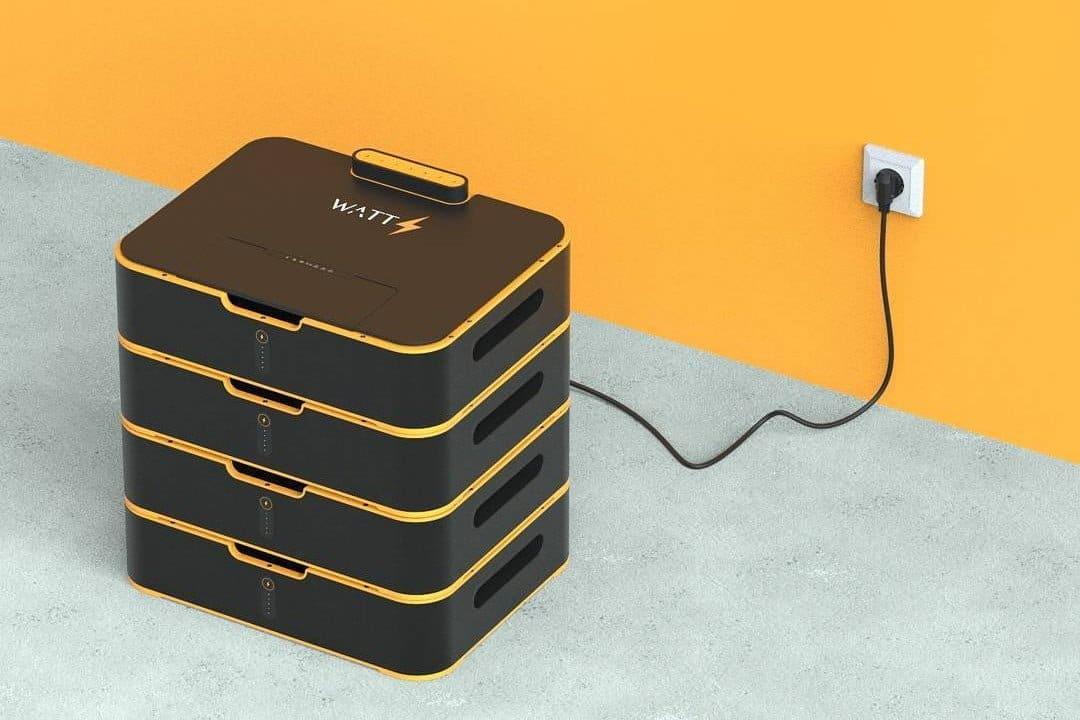 Watts: nueva batería modular