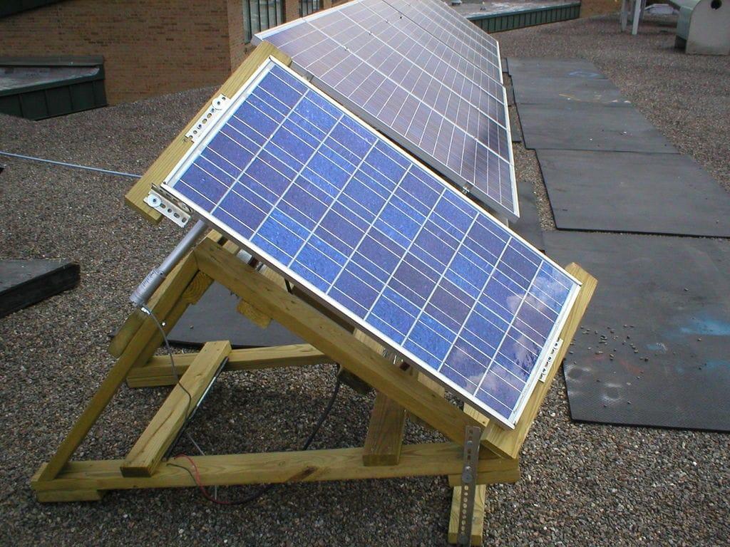 seguidor solar de bajo coste