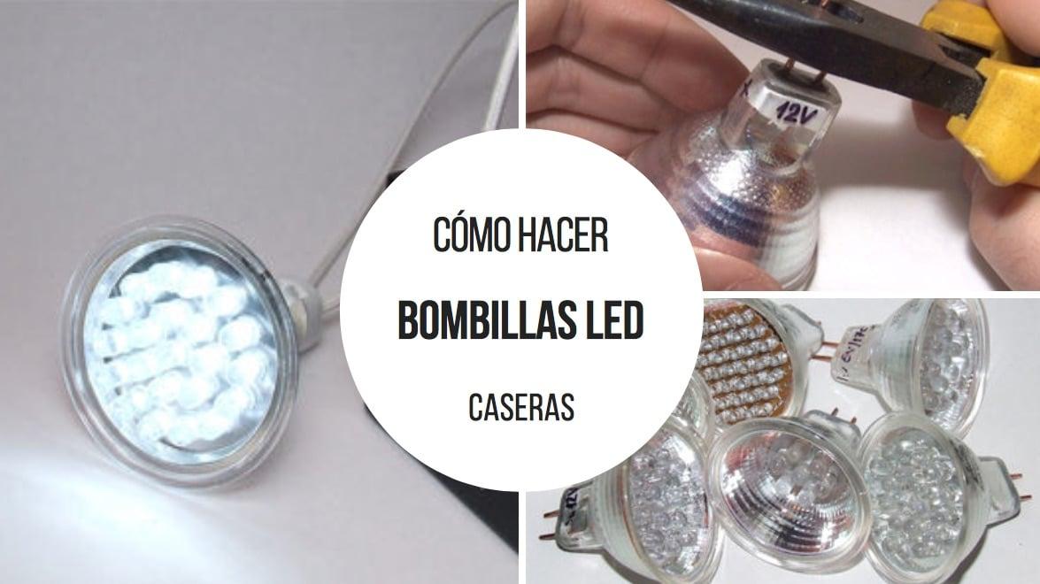 Cómo hacer tus propias bombillas LED