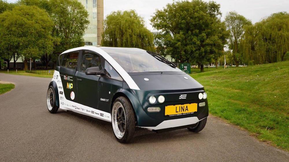 LINA, el primer coche biodegradable del mundo