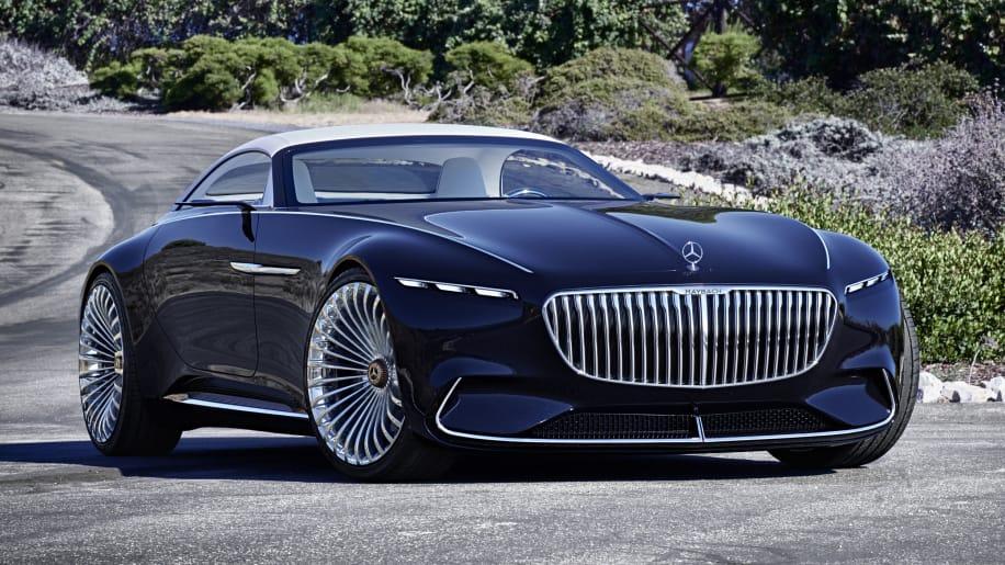 Vision Mercedes-Mayback 6 Cabriolet