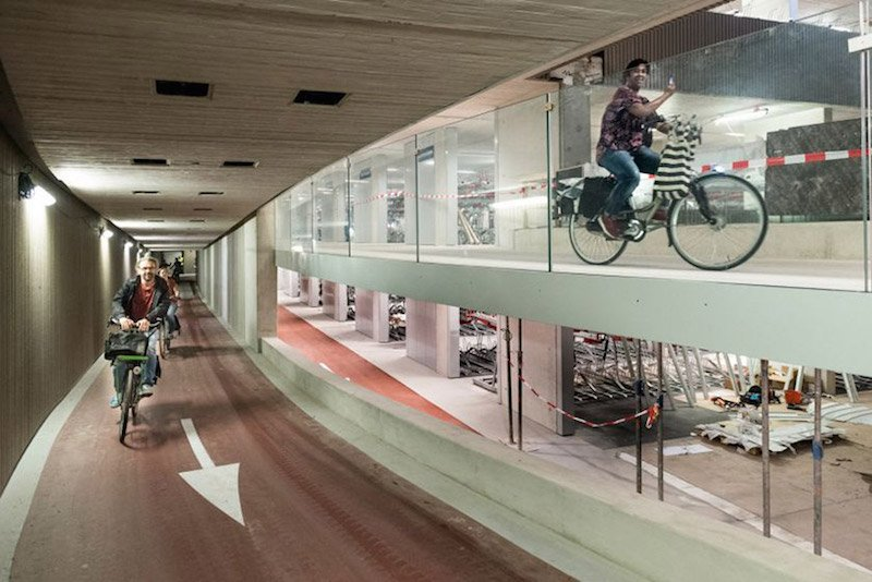 aparcamiento de bicicletas más grande del mundo