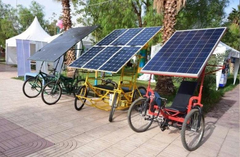 Solar-E-Cycle, bicicleta solar de bajo coste