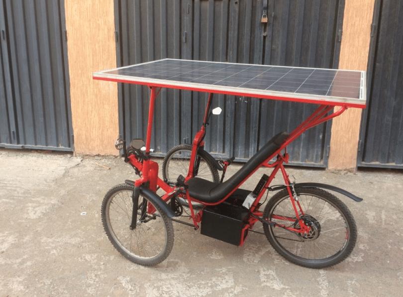 Solar-E-Cycle, bicicleta solar