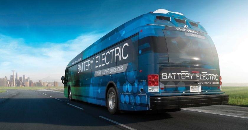 Catalyst E2 autobús eléctrico