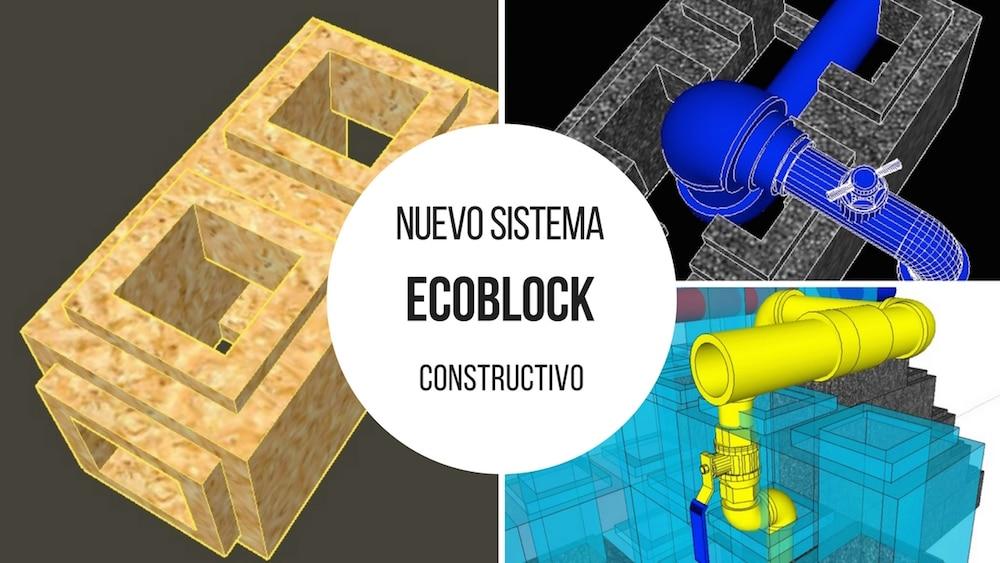 Ecoblock, un nuevo sistema constructivo que ahorra materia prima y energía