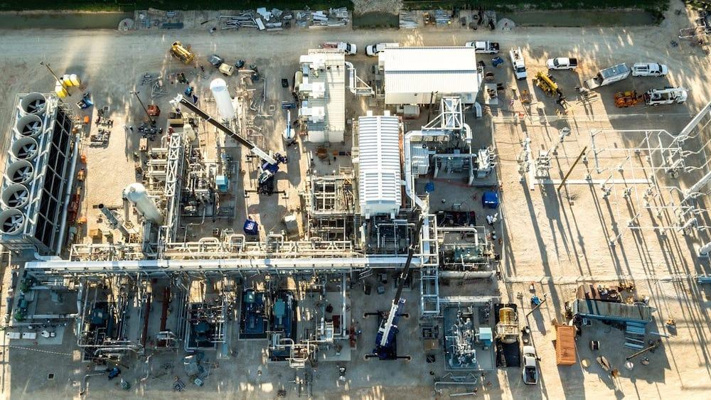 Primera planta de gas natural que producirá electricidad cero emisiones