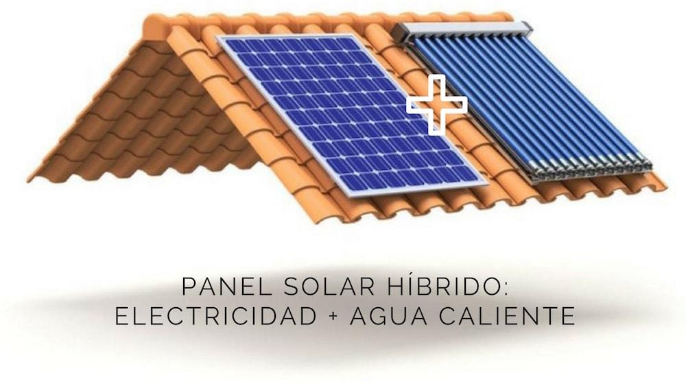 Panel solar híbrido, la tecnología para generar electricidad y agua caliente con una única instalación