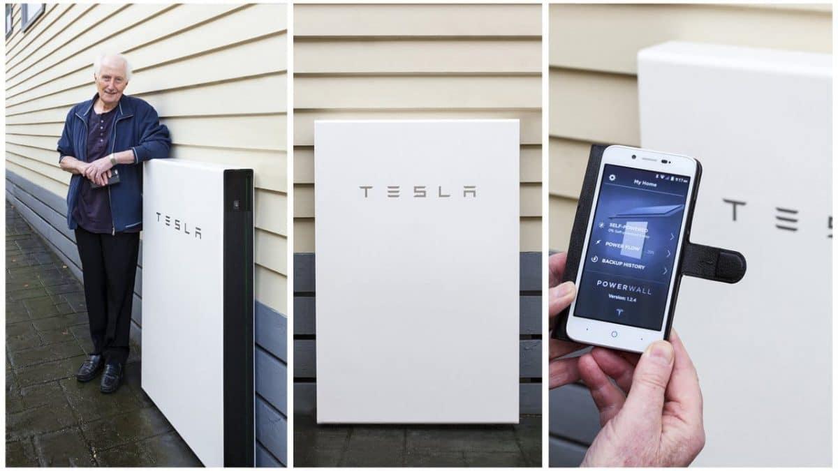 Tesla Est 225 Enviando Cientos De Sistemas Powerwall A Puerto