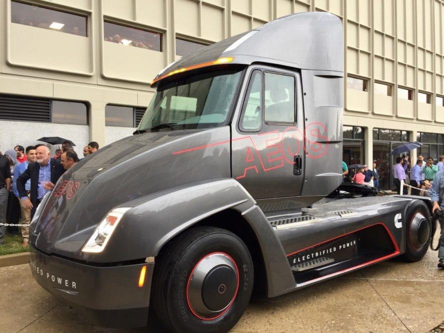 AEOS, camión 100% eléctrico