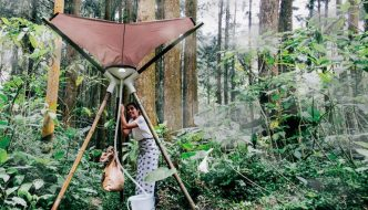 AQUAIR, el cosechador portátil que produce agua potable del aire