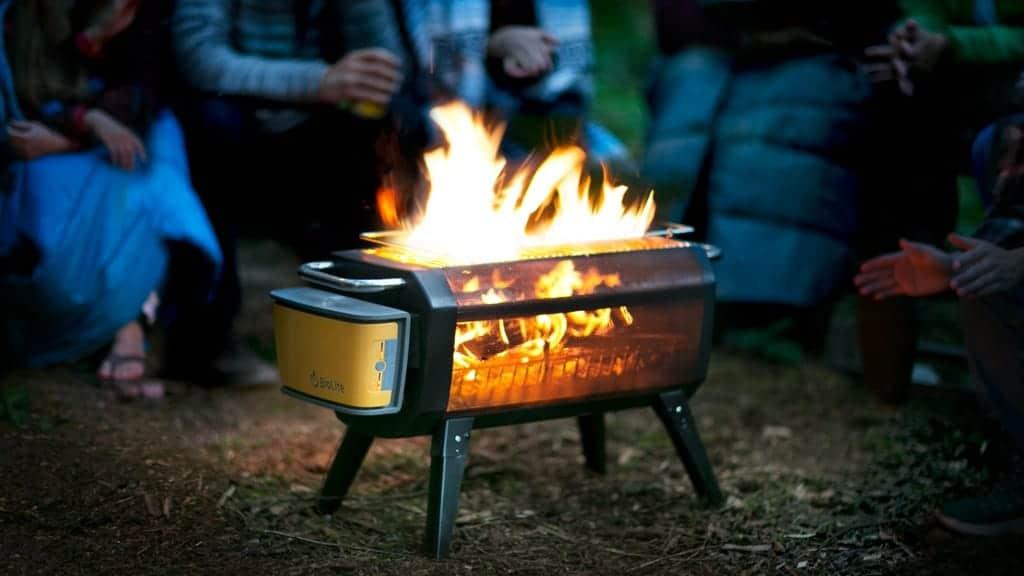 BioLite FirePit, fuego sin humo para hogueras y barbacoas