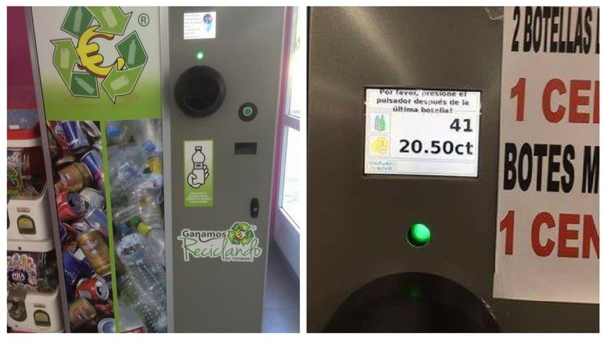Máquinas que te devuelven dinero cuando reciclas, ya disponibles en España