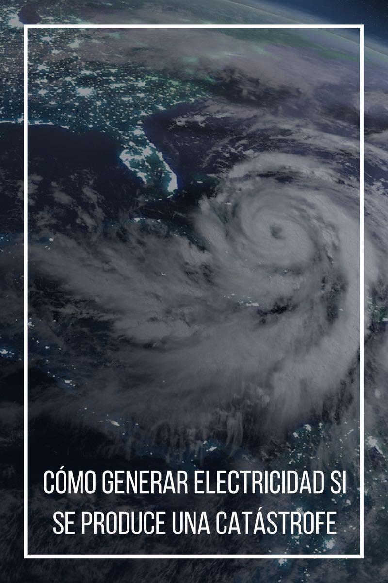 Cómo generar electricidad si se produce una catástrofe