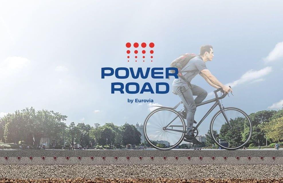 Power Road; usa el calor del asfalto de las calles como calefacción de viviendas