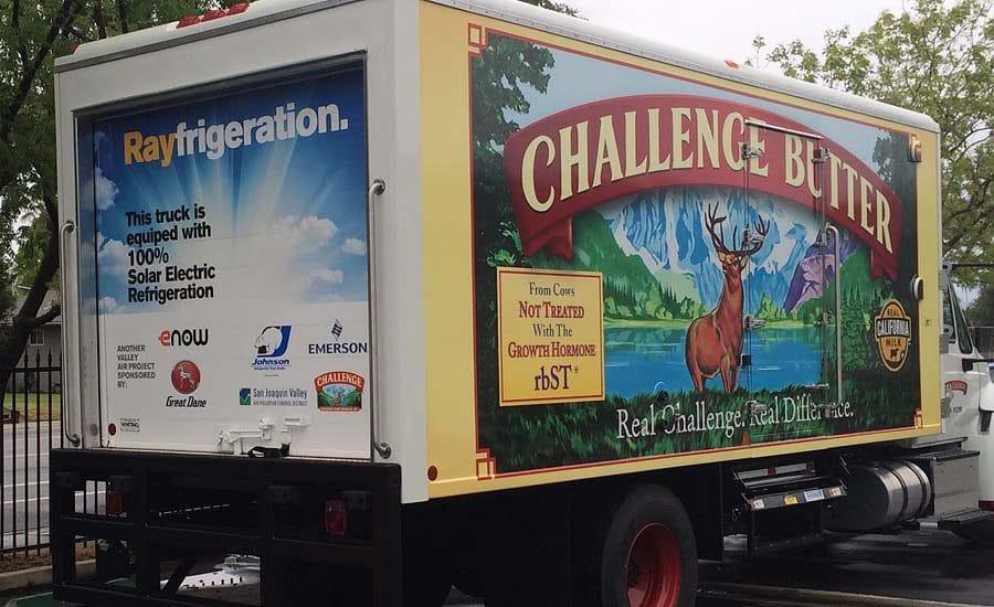 Rayfrigeration; primera unidad de refrigeración solar para camiones cero emisiones