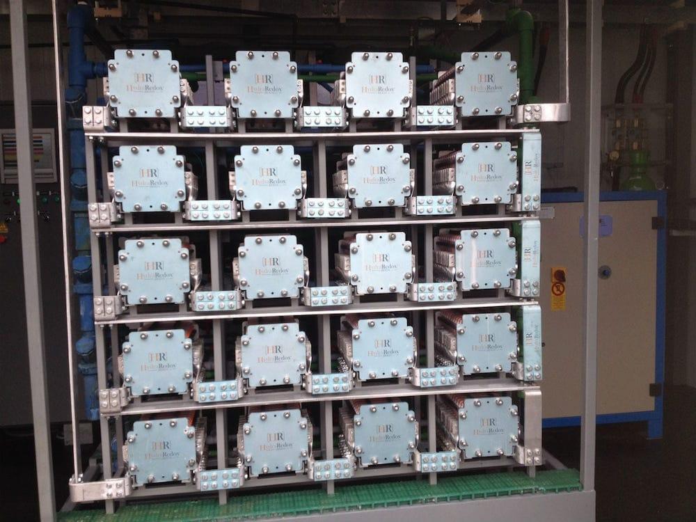 Una batería redox creada en España podría solucionar el almacenamiento de energía renovable a gran escala