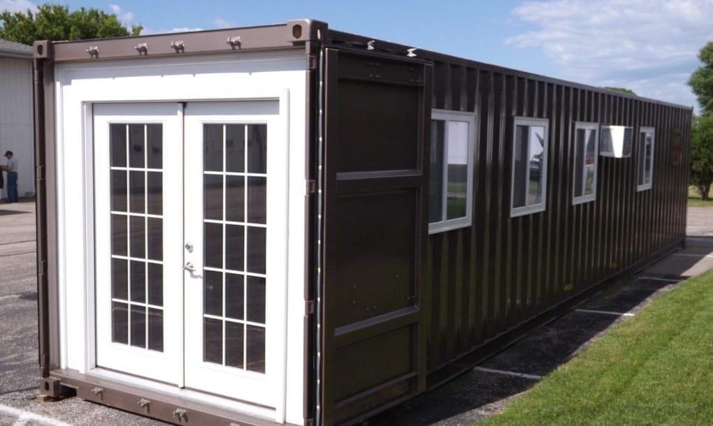 Ya puedes comprar casas prefabricadas en contenedores marítimos en Amazon