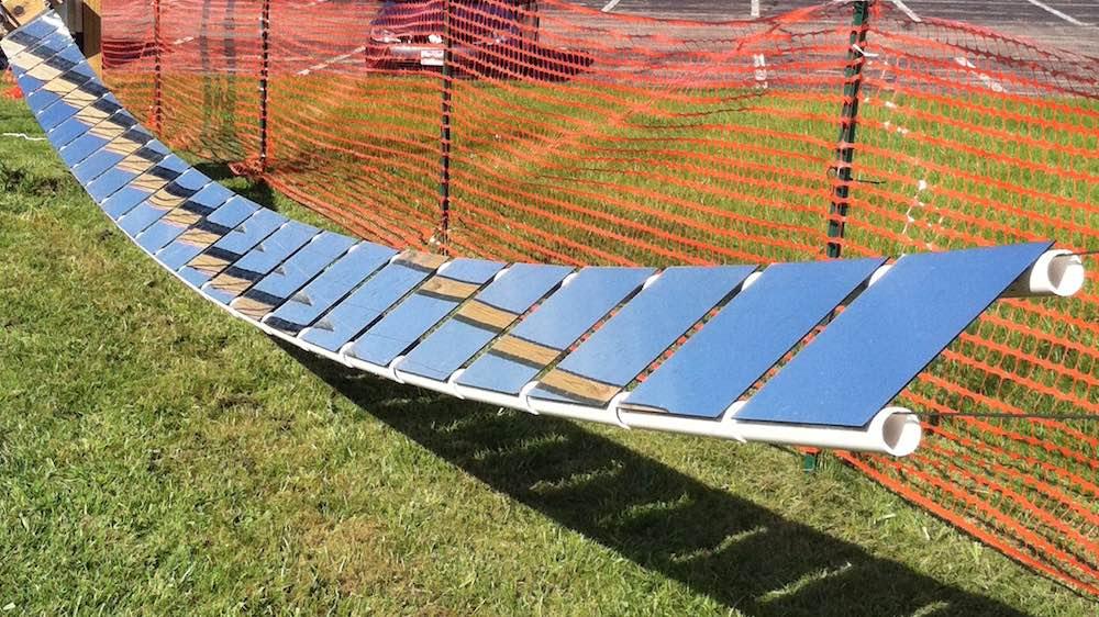 Nuevo colector solar con heliostatos