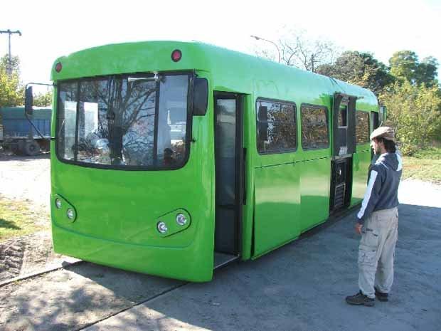 Tecnotren, transporte ecológico inventado en Argentina