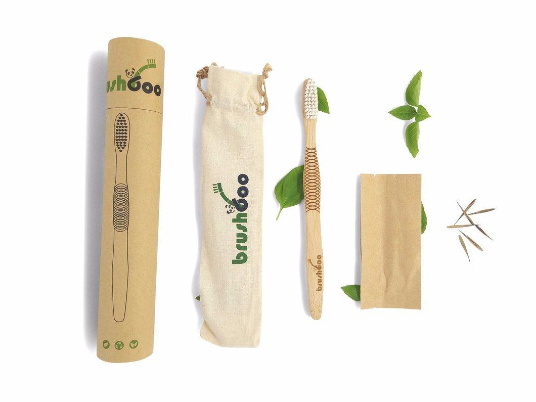 Brushboo; alternativa ecológica a los cepillos de dientes de plástico hecha a base de bambú