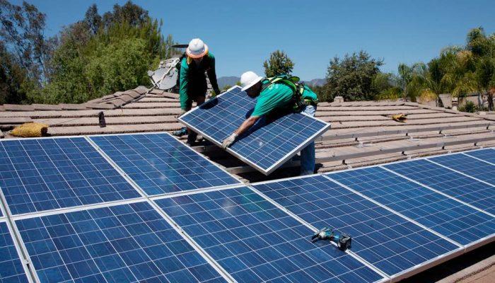 La energía solar batió récords en toda Europa este verano
