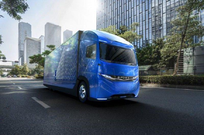 E-FUSO Vision One, el primer camión eléctrico pesado de Mercedes