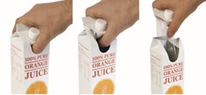 El envase para leches y zumos más fácil de reciclar que quiere sustituir al Tetra Pak