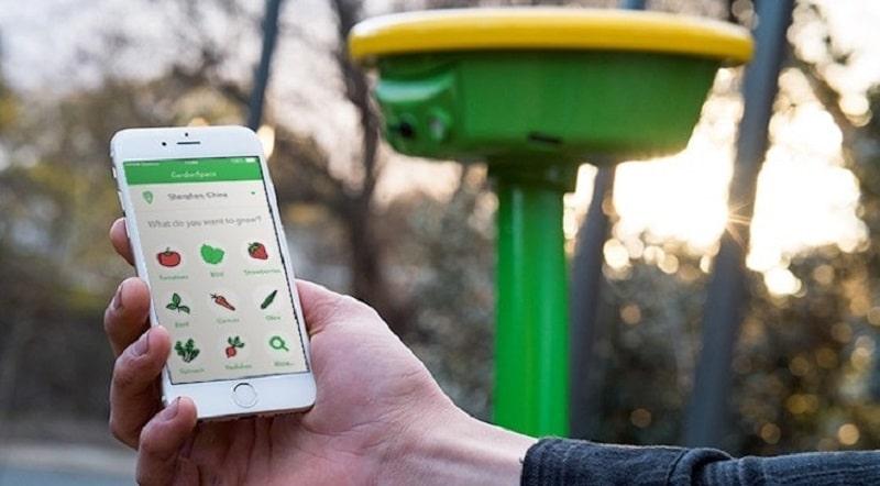 GardenSpace; el primer robot solar para monitorizar, regar y proteger los huertos domésticos