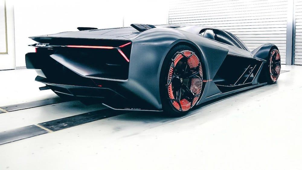 Lamborghini 100 % eléctrico