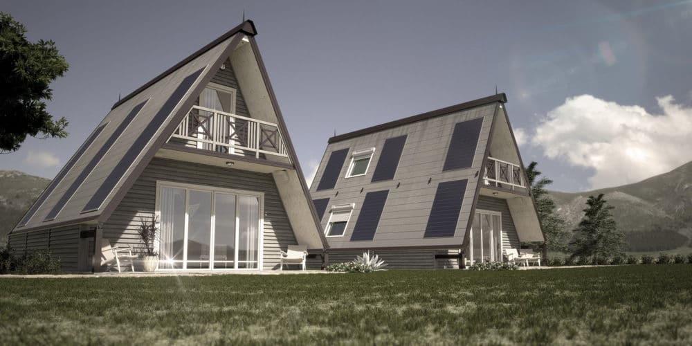 La casa prefabricada de madera modular a prueba de terremotos