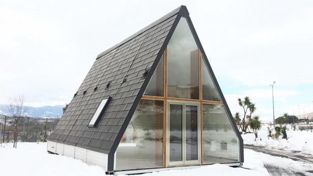 Madi la casa prefabricada de madera modular a prueba de terremotos - Casa senza fondamenta terremoto ...