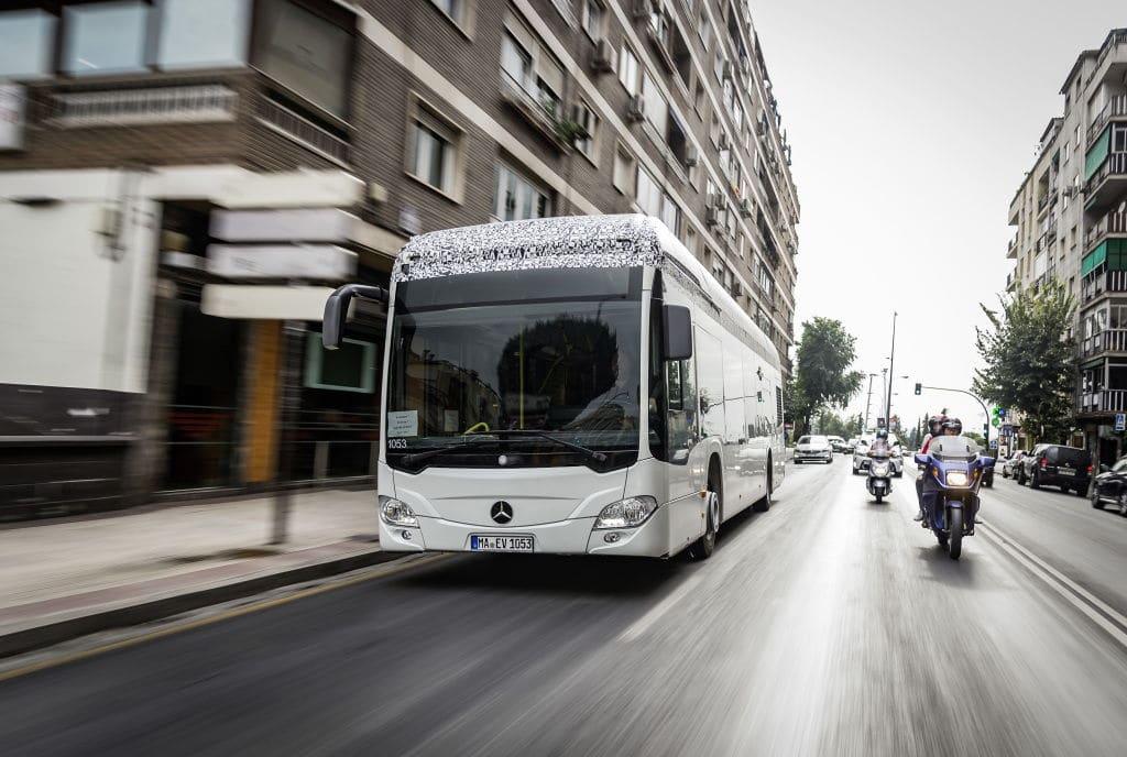 Autobús eléctrico Mercedes Citaro E-Cell