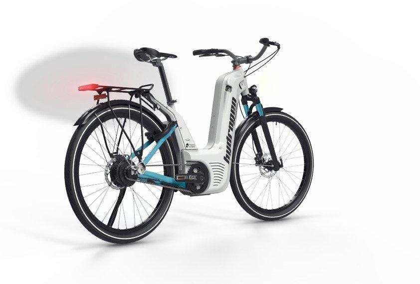 La primera bicicleta eléctrica de hidrógeno