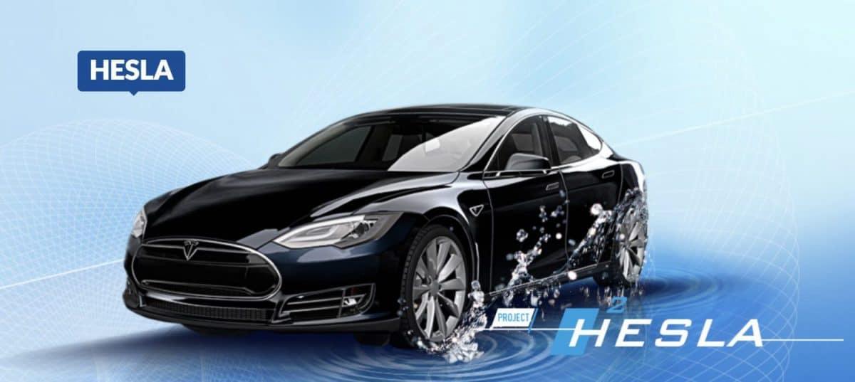 'Project Hesla', el primer Tesla de hidrógeno
