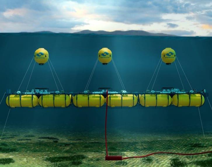 Gales, en la carrera para aprovechar la energía de las olas con su nueva tecnología WaveSub
