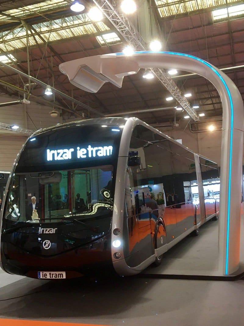 ie tram; el nuevo autobús eléctrico inspirado en los