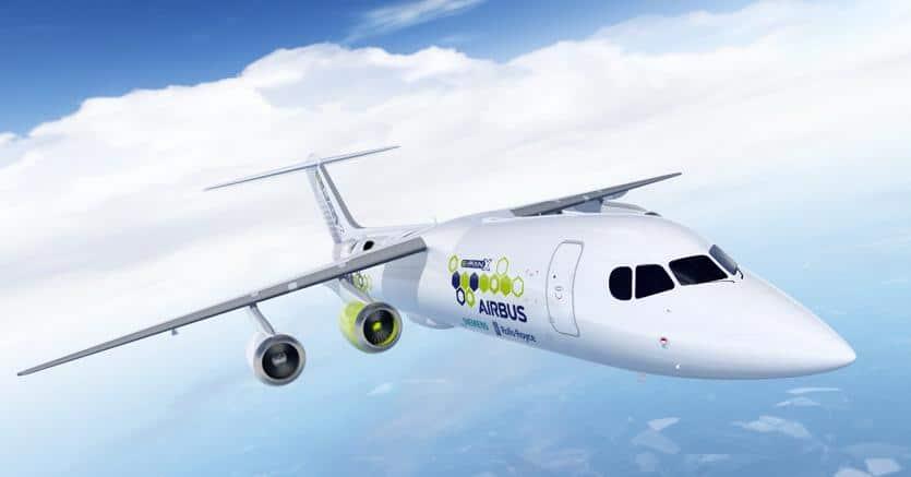 E-Fan X avión híbrido de pasajeros