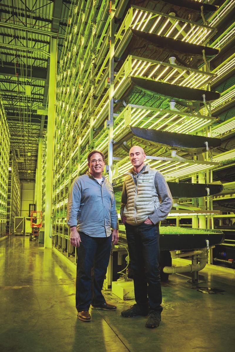 Nuevo sistema de cultivo vertical sin tierra y con un 95% menos de agua