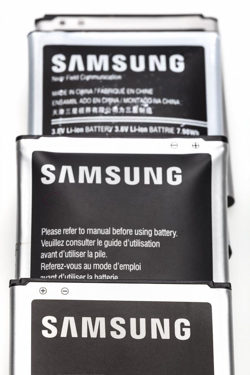 Baterías Samsung