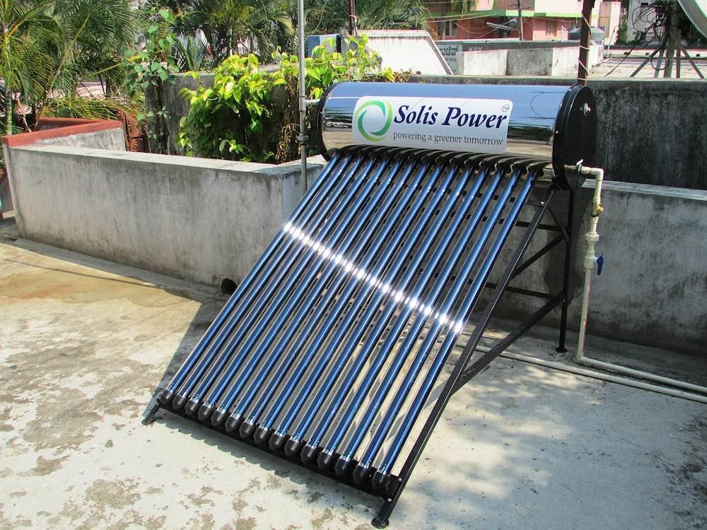 Calentar el agua de tu casa gracias al sol