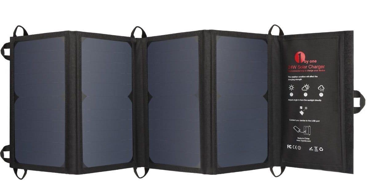 Cargador solar 1byone