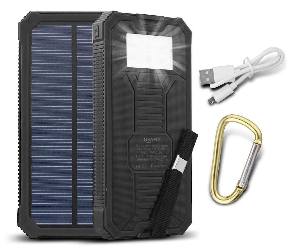 Cargador solar BSAMZ
