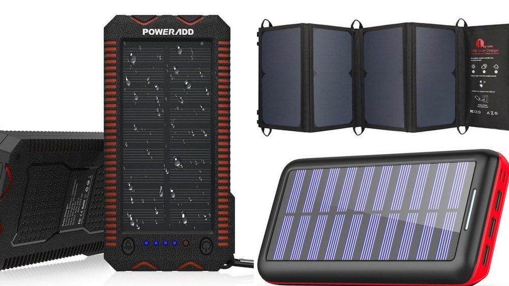Los 5 cargadores solares más vendidos para gadgets