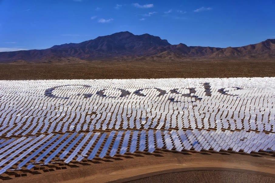 Google funciona 100% sólo con energías renovables
