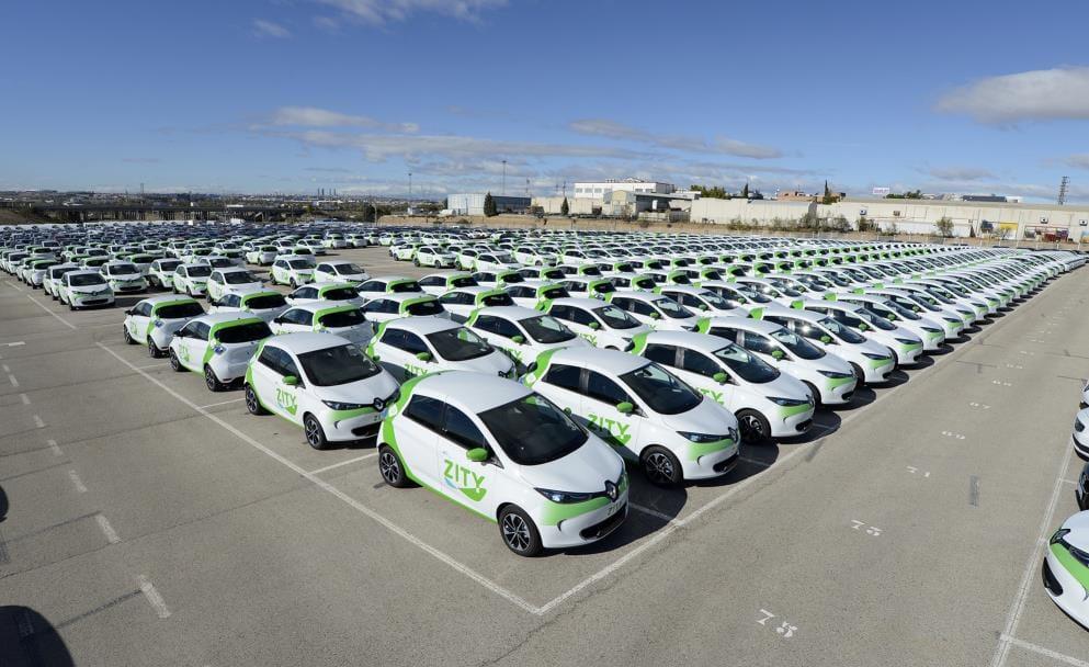 Madrid implanta un nuevo servicio de coches compartidos con 500 Renault Zoe eléctricos