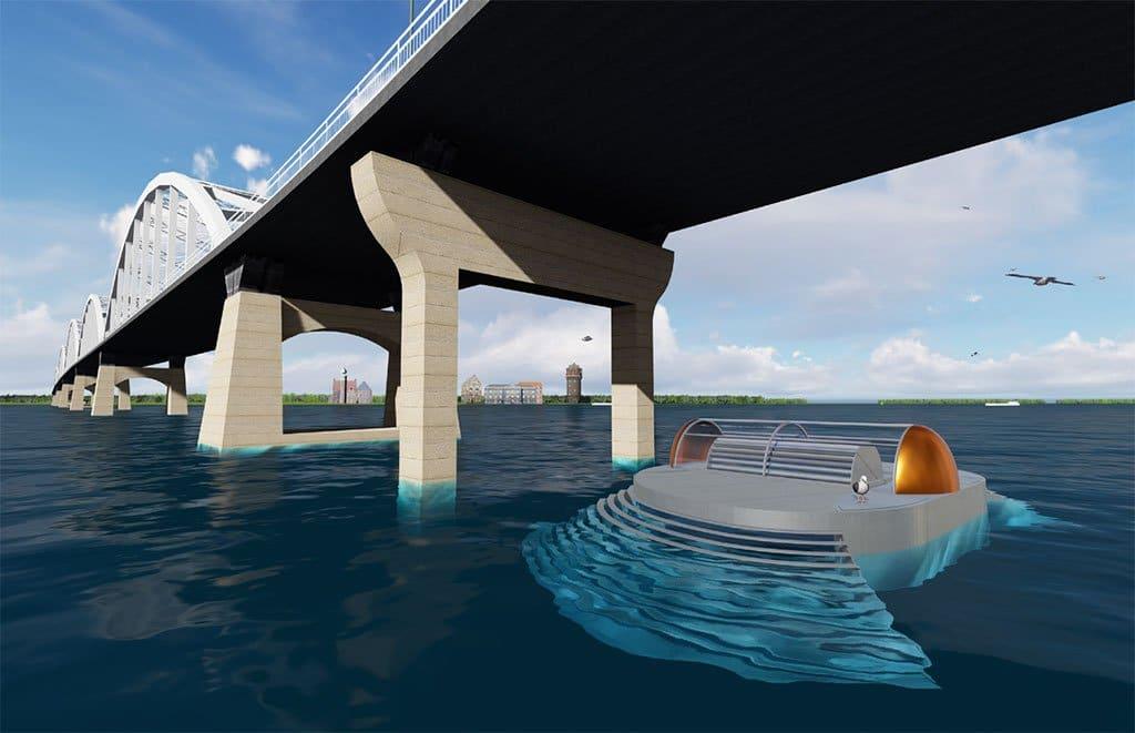 EQA River, con un flujo constante de agua, es capaz de generar energía siempre