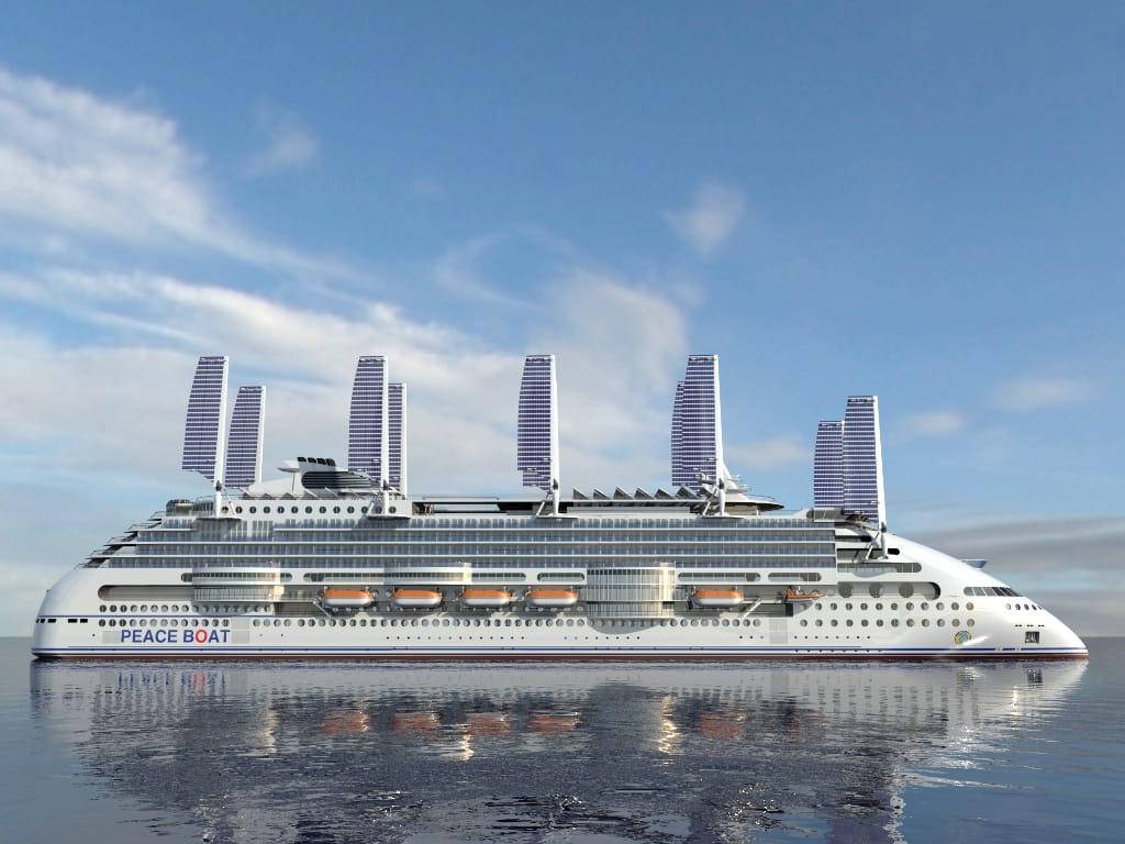 Ecoship, el crucero más ecológico del mundo, se diseña en España